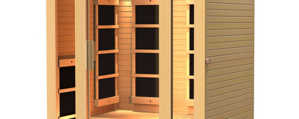 Most Affordable 2 Person Infrared Home Saunas