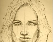 The Technique of Portrait Pencil Drawing for Beginners
