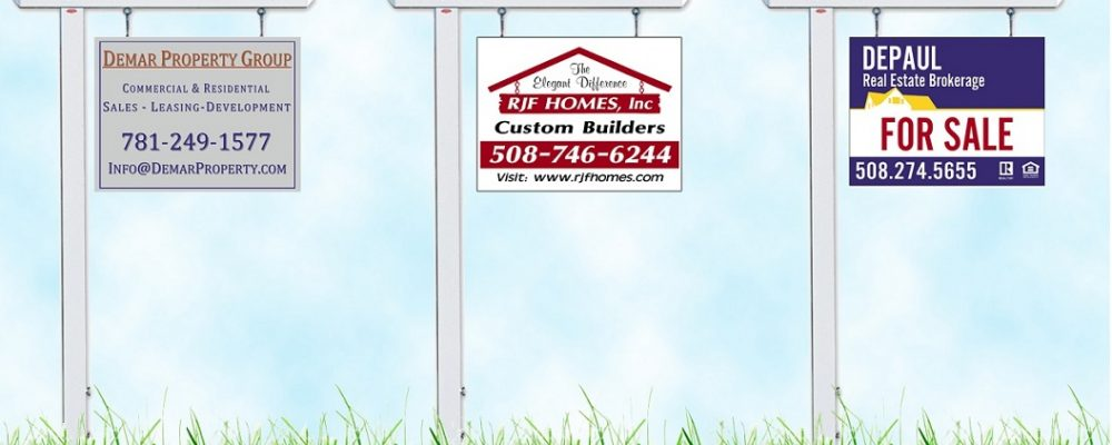 Examples of Successful Real Estate Yard Signs